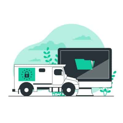 GDPR Lorry